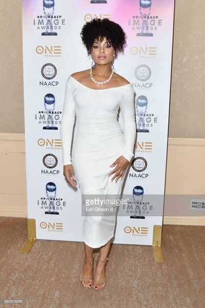 Demetria McKinney attends the 49th NAACP Image Awards Nominees' Luncheon at The Beverly Hilton Hotel on December 16, 2017 in Beverly Hills, California.