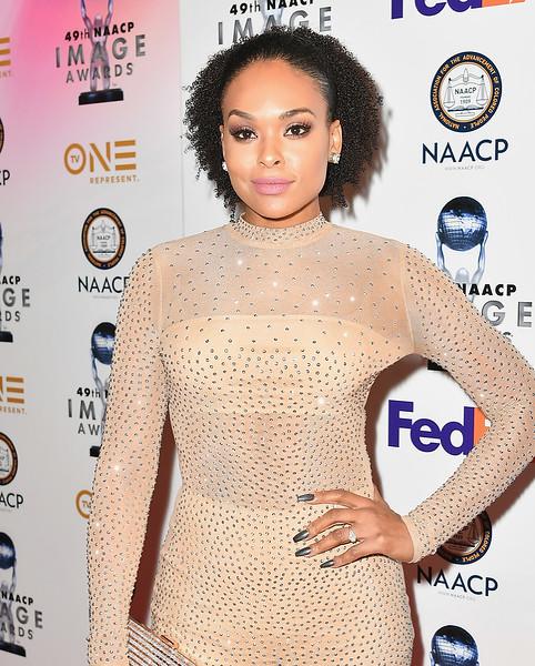 Demetria McKinney attends the 49th NAACP Image Awards Non-Televised Award Show at The Pasadena Civic Auditorium on January 14, 2018 in Pasadena, California.