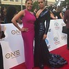 Sheri Riley and Demetria McKinney attends the 49th NAACP Image Awards at Pasadena Civic Auditorium on January 15, 2018 in Pasadena, California.