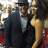 Demetria McKinney and Pooch Hall attend the 4th Annual Georgia Entertainment Awards at Georgia World Congress Center on February 6, 2016 in Atlanta, Georgia.