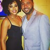 Alexander the Griot and Demetria McKinney at Ashford & Simpson's Sugar Bar - October 28, 2017 in New York City