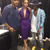 Demetria McKinney and Dallas attend Belladonna Extentions Official Launch Party - August 16, 2015 in Atlanta, GA