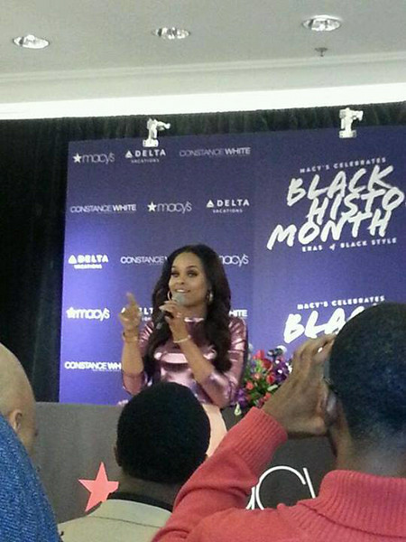 Demetria McKinney celebrate Black History Month with 'Eras Of Style' on February 20, 2014