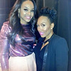 Demetria McKinney and Whitney Anderson celebrate Black History Month with 'Eras Of Style' on February 20, 2014