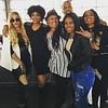 Keke Wyatt, Demetria McKinney, Anje Collins, DJ Fadelf, Jasmine Burke and Karlie Redd attends Bounce TV's Saints & Sinners Season 2 Celebratory Brunch at Suite Lounge on November 13, 2016 in Atlanta, Georgia.