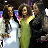 Beautii Joseph and Demetria McKinney attends Bronner Bros. 2015 Mid-Winter International Beauty Show at Georgia World Congress Center on February 22, 2015 in Atlanta, Georgia.