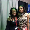 Demetria McKinney attends the 'Bronner Brothers Hair Show' on August 18, 2013 in Atlanta, Georgia.