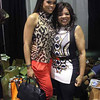 Demetria McKinney and Jamie Foster Brown at the 'Bronner Brothers Hair Show' on August 18, 2013 in Atlanta, Georgia.