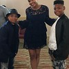 Demetria McKinney and KIDZ N Charge attend the CEBA: Celebrity Entertainment Business Awards - The Robert Treat Hotel - June 11, 2017 in Newark, New Jersey