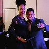 Juan Carlo and Demetria McKinney attend the CEBA: Celebrity Entertainment Business Awards - The Robert Treat Hotel - June 11, 2017 in Newark, New Jersey