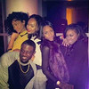Passionate, Lance Gross, Demetria McKinney, Aaliyah and J Denelle attends the 'CIAA: Key To The City' party on March 1, 2014