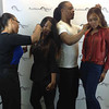 Jam Poet, Ateya, J Ready & Demetria McKinney at the 'Platinum Wigs' Launch Party on October 5, 2013