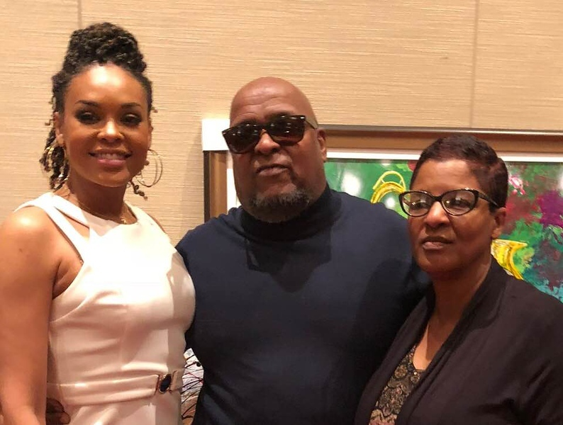 Demetria McKinney and Cecil Bernard attend Chefs of the World - March 4, 2019