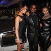 "Demetria McKinney, Devyne Stephens and Kash Howard at ""DeVyne Stephens Holiday Affair"" on December 22, 2012"
