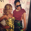 Porchia Marie attends Demetria McKinney's Video Viewing Party - August 13, 2014