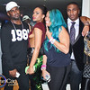Anje Collins, Stevie Baggs and Mimi Faust attend Demetria McKinney's Video Viewing Party - August 13, 2014