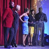 Keri Hilson, Demetria McKinney, Terri J. Vaughn and Roger Bobb at Devyne Stephens' Christmas Gala 2010 held at the Buckhead Theater - December 22, 2010