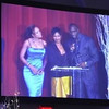 Demetria McKinney, Terri J. Vaughn & Roger Bobb at Devyne Stephens' Christmas Gala 2010 held at the Buckhead Theater - December 22, 2010