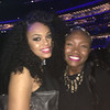 Demetria McKinney and Taylor Brianna at Essence Festival - Superdome - July 3, 2016 in New Orleans, LA