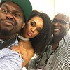 Freddy O, Demetria McKinney and Roger Bobb at Essence Festival - Superdome - July 3, 2016 in New Orleans, LA
