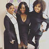 Fantasia, Brittany Graham and Demetria McKinney perform at Fantasia: Christmas After Midnight - December 1, 2017 in St. Louis, MO