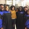 Howard Gospel Choir and Demetria McKinney at Fantasia: Christmas After Midnight - December 9, 2017 in Washington, DC