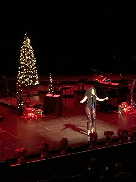 Demetria McKinney perform at Fantasia: Christmas After Midnight - November 26, 2017 in Atlanta, GA