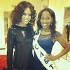 Demetria McKinney attend Hall Of Fame Comptition