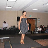 Demetria McKinney Modeling A Maria Harper Design  At The Hautlanta Fashion Show
