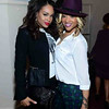 Demetria McKinney and Mimi Faust  attend Keke Wyatt's fan appreciation celebration and R&B divas taping on January 14, 2014