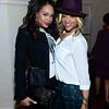 Demetria McKinney and Mimi Faust  attend Keke Wyatt's fan appreciation celebration and R&B divas taping on January 14, 2014