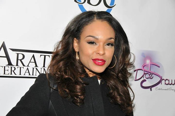 Demetria McKinney attend Keke Wyatt's fan appreciation celebration and R&B divas taping on January 14, 2014