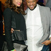 Demetria McKinney and Satchel J attend Keke Wyatt's fan appreciation celebration and R&B divas taping on January 14, 2014