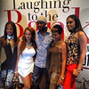 Demetria McKinney, Karlie Redd, Brian Hooks and Malinda Williams at the premiere of 'Laughing To The Bank' on August 18, 2013 in Atlanta, Georgia.