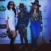 Demetria McKinney, Dallas and Claudia Jordan attend the Mitou Fashion Show - Spring 2016 New York Fashion Week - September 14, 2015 in New York City