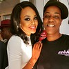 Demetria McKinney and Chef Shimiattend the Mitou Fashion Show - Spring 2016 New York Fashion Week - September 14, 2015 in New York City