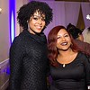 Demetria McKinney and Nicole attends the 'STAR' ATL Live On the Park screening at Park Tavern on November 7, 2016 in Atlanta, Georgia.1