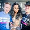 Demetria McKinney and Sean Johnson at San Diego LGBT Pride Parade - Music Festival - July 16, 2016