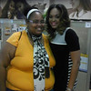 Tavera Anthony and Demetria McKinney at TVOne's 'Tent Event With Comporium' in SC on December 18, 2012