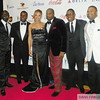 Akon, Mayor Kasim Reed, Demetria McKinney, Devyne Stephens and a couple of friends at the 27th UNCF Mayor's Masked Ball, December 18, at the Atlanta Marriott Marquis