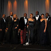 Devyne Stephens, Demetria McKinney, Roger Bobb & a couple of friends at the 27th UNCF Mayor's Masked Ball, December 18, at the Atlanta Marriott Marquis