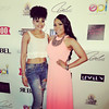 Demetria McKinney and Jaye Valentine attend The Art Of Luxury - Beauty & Grooming Lounge - September 16, 2016
