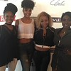 Jasmine Burke, Demetria McKinney, Latavia Roberson and Meelah attend The Art Of Luxury - Beauty & Grooming Lounge - September 16, 2016