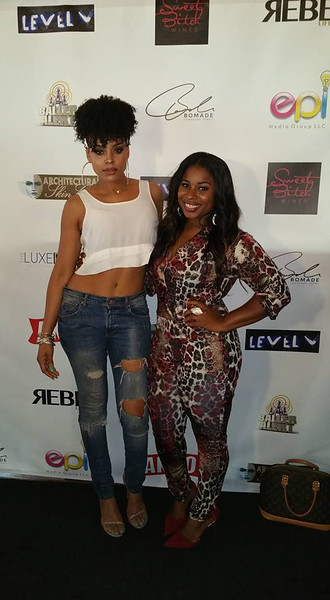 Demetria McKinney and Lamecia King attend The Art Of Luxury - Beauty & Grooming Lounge - September 16, 2016