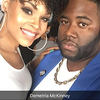 Demetria McKinney and Brandon Grand attend The Art Of Luxury - Beauty & Grooming Lounge - September 16, 2016