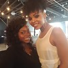 Syntoria Bryant and Demetria McKinney attend The Art Of Luxury - Beauty & Grooming Lounge - September 16, 2016