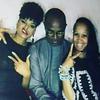 Demetria McKinney, Stan Mukoro and Anje Collins attend The Art Of Luxury Dinner - September 16, 2016