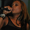 Demetria McKinney performed at the grand opening of The Green Room Lounge on August 18, 2011 in Atlanta, GA.