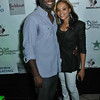 Roger Bobb & Demetria McKinney attends the grand opening of The Green Room Lounge on August 18, 2011 in Atlanta, GA.