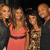 Demetria McKinney attends the grand opening of The Green Room Lounge on August 18, 2011 in Atlanta, GA.